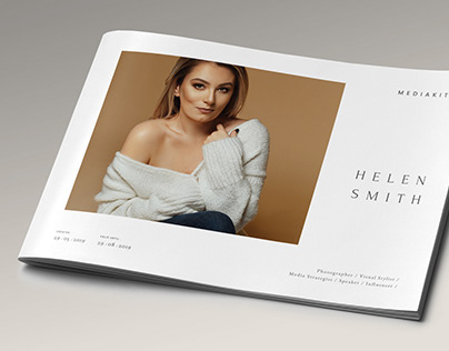 Media Press Kit Template