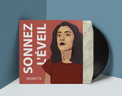 Sonner l'éveil - Album Cover Illustration