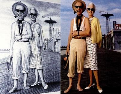 Jessica Tandy & Hume Cronyn