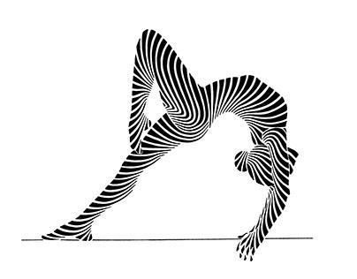 Rhythmic Gymnastics Illustration