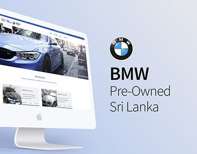 BMW Pre-Owned Sri Lanka Web Design