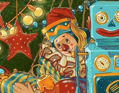 Christmas card opta data Group