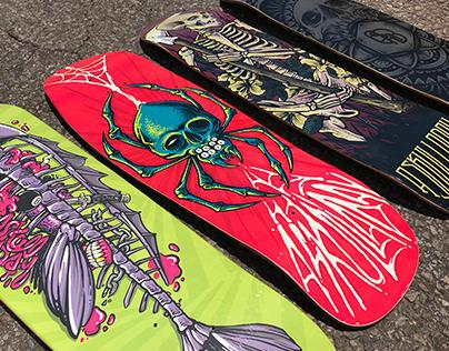 @askulladay skateboards