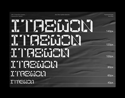 Seoul Rave Typeface - Mechanic and Techno