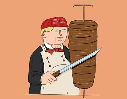 Dönald Kebab | Illustration