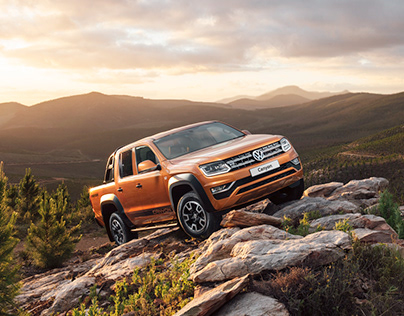 VW Amarok Canyon Special Edition - Commercial Shoot