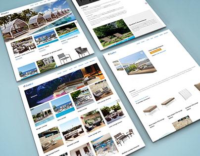 Contral Srl - Website redesign