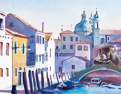 Rio degli Ognissanti, Venice