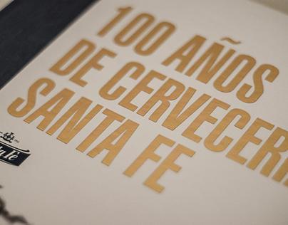 Editorial - Libro 100 Años Cervecería Santa Fe