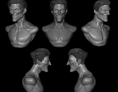 Joker Bust study