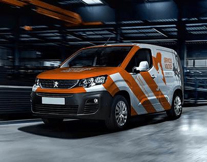 Covering Peugeot Expert 2016 - Services Voltige