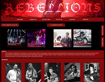 Rebellions Website
