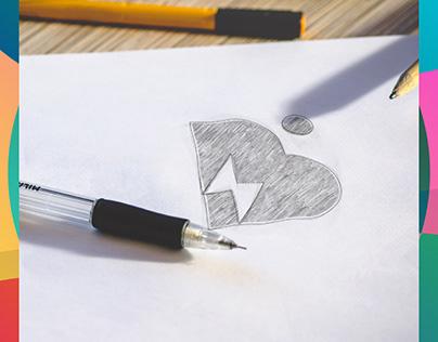 Buka Kios Logo Design