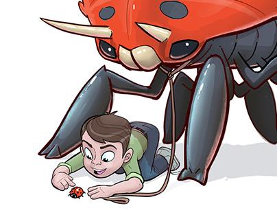 Fresco: Monstrous Ladybug