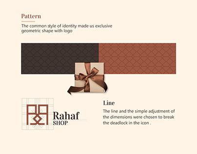 Brand design Rahaf shop