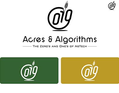 Logo Design for Acres And Algoritms