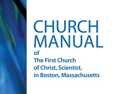 Book interior design and typesetting - Church Manual