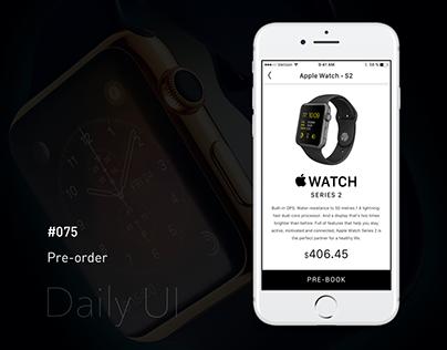 Daily UI - #075