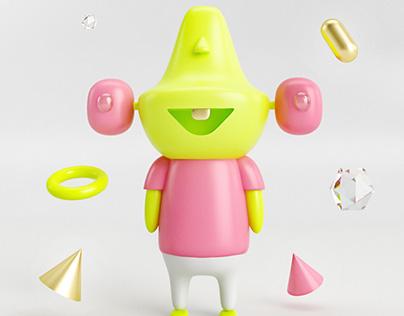 3D Character - Mr. Pirulin