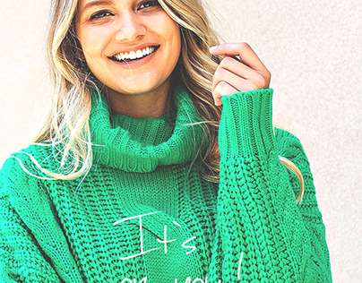 fashion banner design, email maketing design