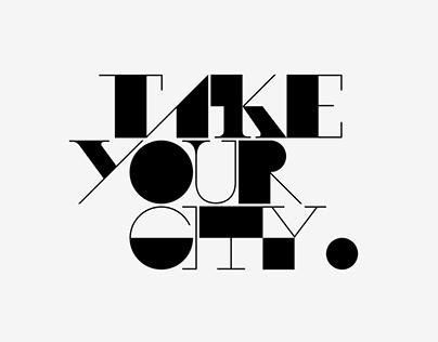 Works / 2017 | Logo: TOYOTA - TAKE YOUR CITY
