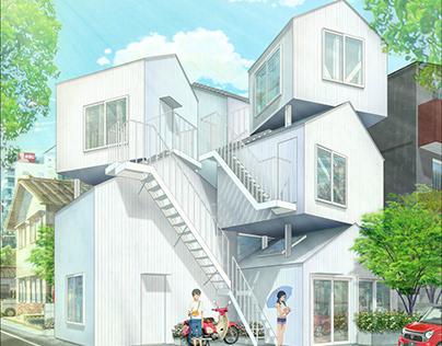 #archanime V01 Tokyo Apartment by Sou Fujimoto