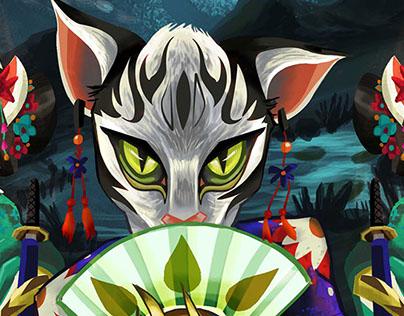 Magical Nigth- Final illustration project- Creahana