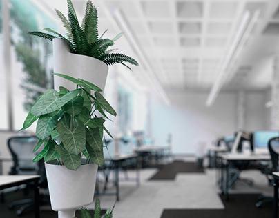 Designg of Vertical Garden- CITYSENS
