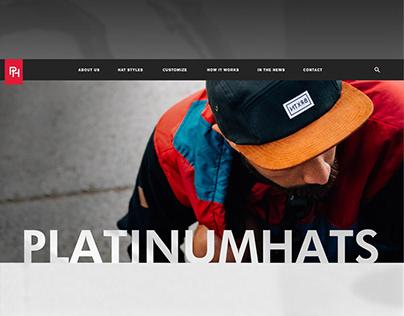 Platinum Hats Website
