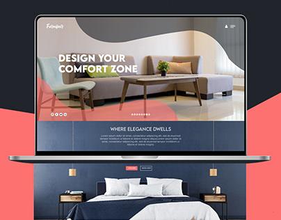 Furnifair Web page