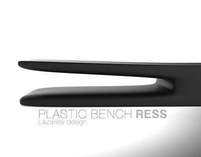 Plastic bench Ress