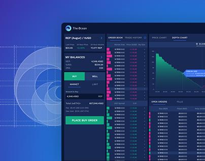 The 0cean - Decentralized Trading Platform