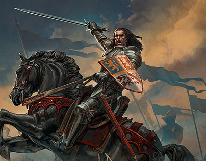 John Talbot for Joan of Arc by Mythic Games
