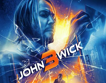 John wick 3 :Poster Art