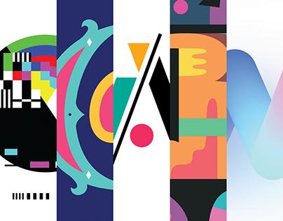 #ColorFontWeek - 5 FREE color fonts