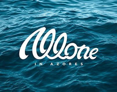 Lettering para logo Allone