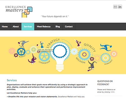 Excellence Matters Website
