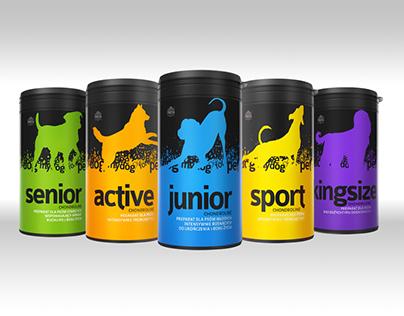 Packaging design Dog Health Supplements