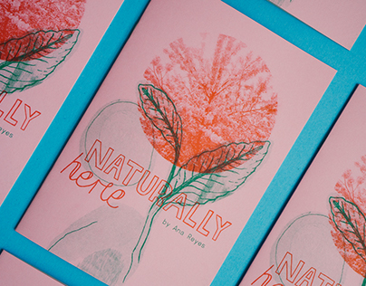 Naturally Here | Riso Zine