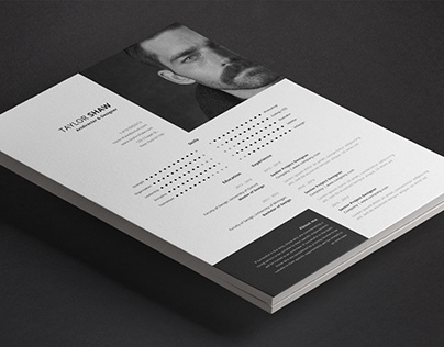 Electra Resume Template