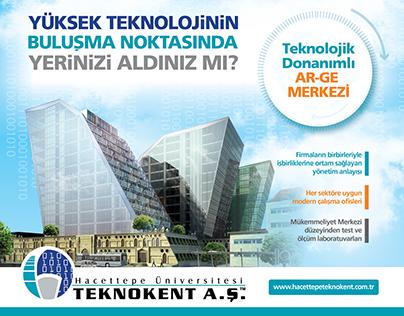 Hacettepe Üniv. Teknokent Reklam, Poster of Technopark