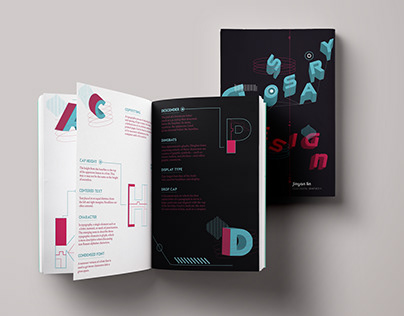 Glossary Booklet Design