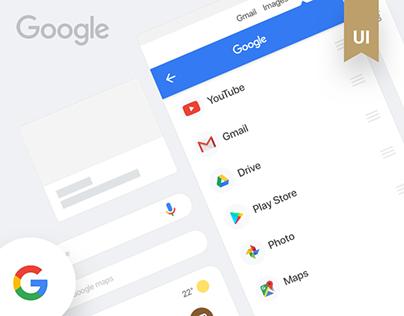 Google - Redesign - I'm feeling lucky