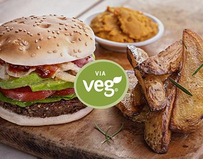 ViaVeg - Productos veganos - Diseño web