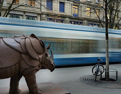 Stadt - Kunst und Mobilität