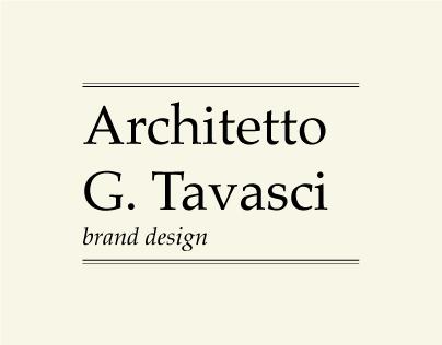 Architetto Tavasci | brand design