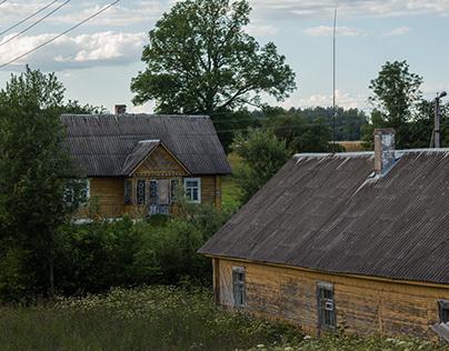 Фотопроект о деревенских домах