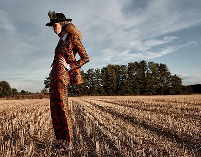 """""""Wheat Fields"""" Precious magazine"""
