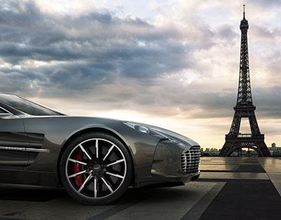 Aston Martin One-77 / Paris