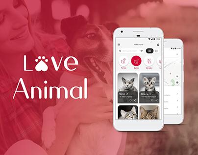 UX/UI Design   Love Animal App